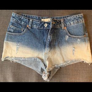 Denim Zara Shorts. Size.4